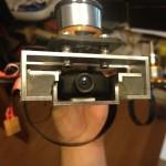 Die Kamerahalterung mit Alpha-Gel